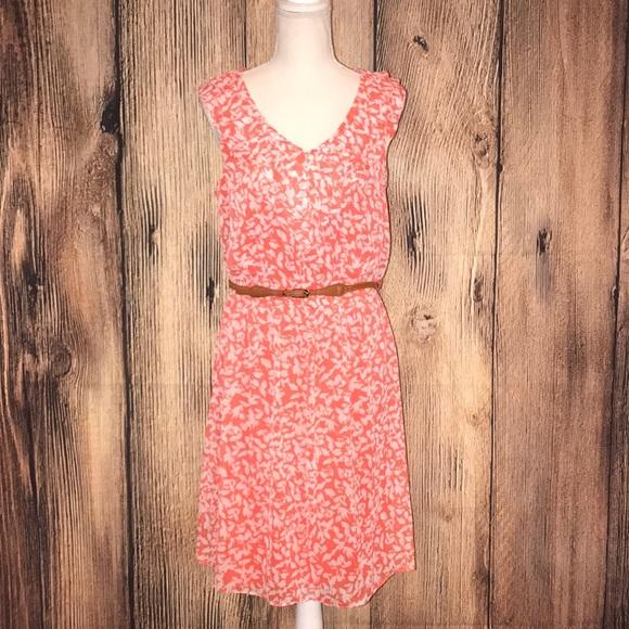 ALYX sleeveless dress size 10 orange